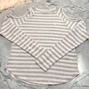 Abercrombie Kids Cold Shoulder Long Sleeve Sweater